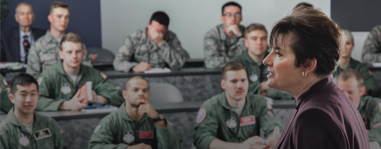 air force academy teacher and cadets